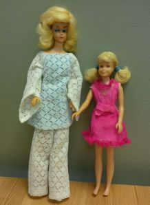 Barbie and Skipper