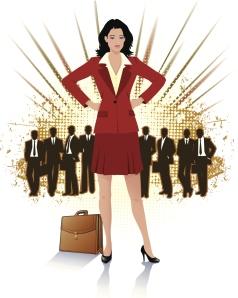 power woman illustration