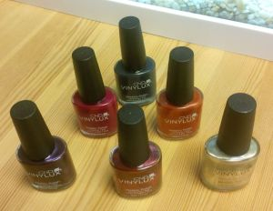 CND nailpolishes Edit
