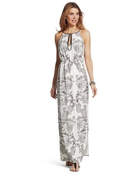 Chicos paisley maxi dress