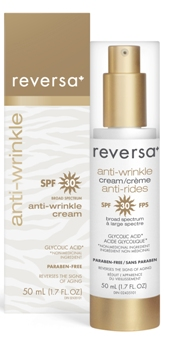 anti-wrinkle cream SPF 30_box and bottle
