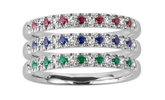Paris Jewelers stackable rings