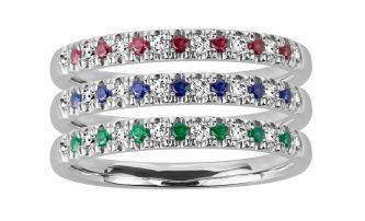 Paris Jewelers stackable rings