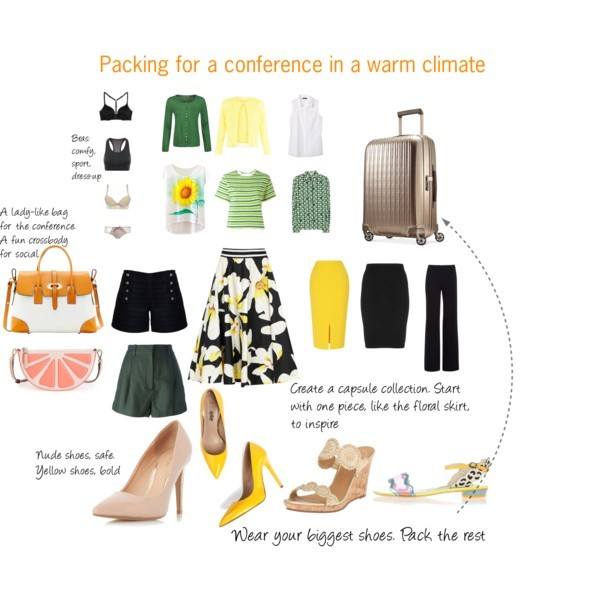 Polyvore pack for conference