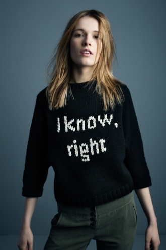 A1006 I know sweater