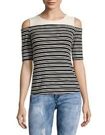 modest cold shoulder t